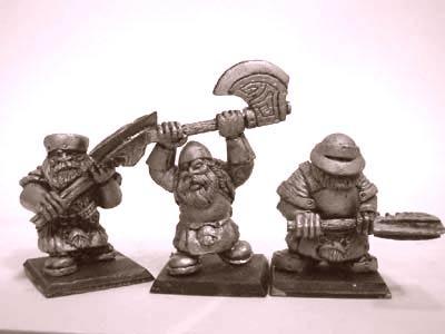 Zwergen Krieger mit Zweihandwaffen III