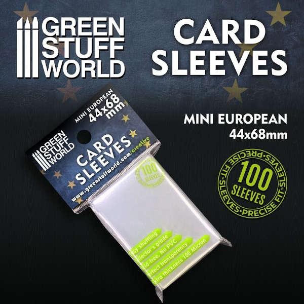 Card Sleeves - Mini European 44x68mm