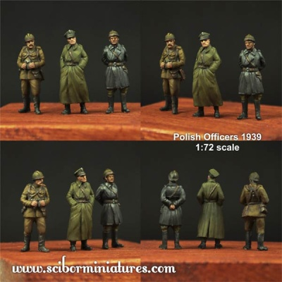 1:72 Polish Officers 1939 Set #1 (3)