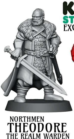 Theodore - The Realm Warden (Kickstarter Exclusive)