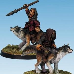 Goblin Wolf Rider Spears