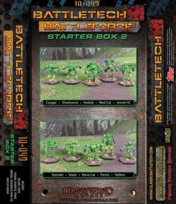 BattleTech Battle Force Scale Starter Box # 2 (10)