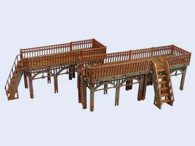 XIX Century Walkway Set