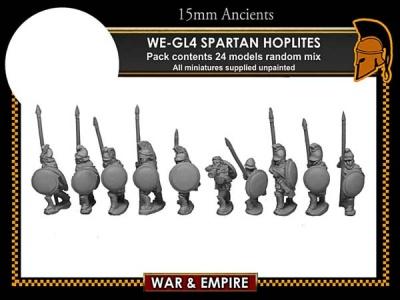 Later Greek, Spartan/Cloaked Hoplites