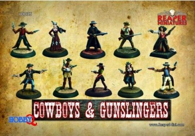 Cowboys & Gunslingers Box (10)