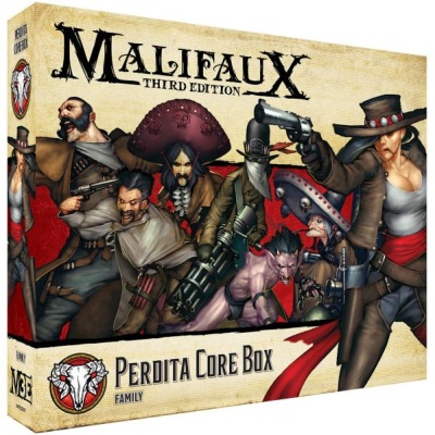 Malifaux (M3E): Perdita Core Box