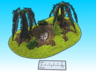 Geländestück Tümpel