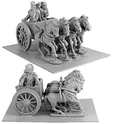 Persian General in Four-Horsed Chariot
