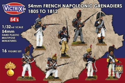 54mm French Napoleonic Grenadiers 1805 - 1812 (16)