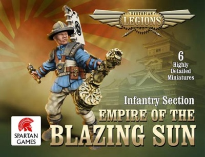 Dystopian Legions: Empire of the Blazing Sun Ashigaru (6)