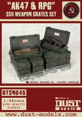 """AK47 & RPG"" SSU Weapon Crates Set"