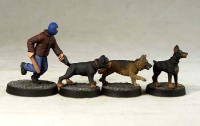 Criminal Dog Handler (1+3)