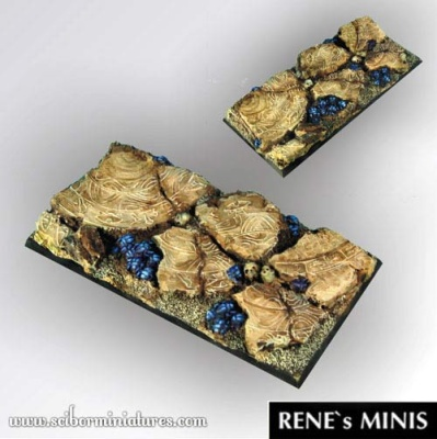 Egyptian Ruins 95 mm / 45mm square base (OOP)