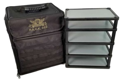 P.A.C.K. 352 Molle Magna Rack Load Out (Black)