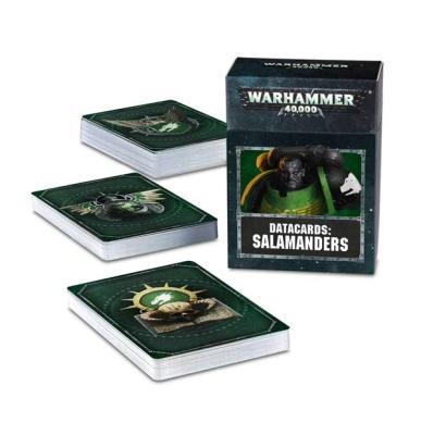 Datakarten: Salamanders