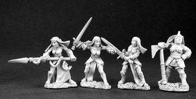 Battle Nuns and Mother Superior
