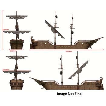 D&D: The Falling Star Sailing Ship