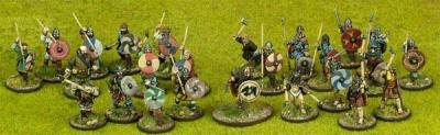 SAGA Starter Army - Viking 4 pt Warband