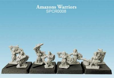 Amazons Warriors (10mm) (8)