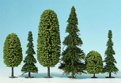Fabelwald Tannen u. Laubbäume