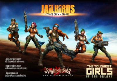 Jailbirds - Coyote Crew - Troops (JB)