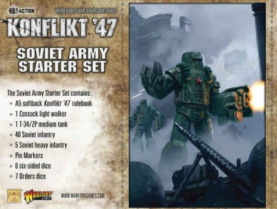 Konflikt`47 Soviet Starter Set