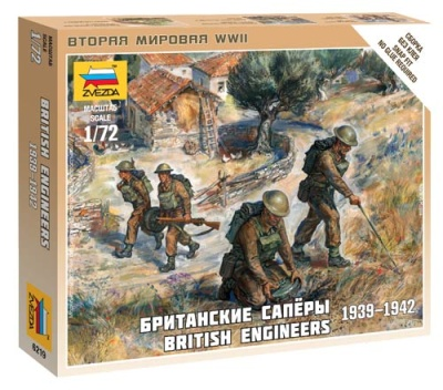 1:72 British engineers (1939-1942)