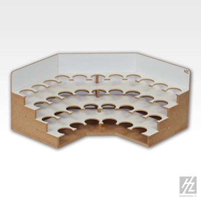 Farbhaltermodul - Ecke (Ø 36 mm)
