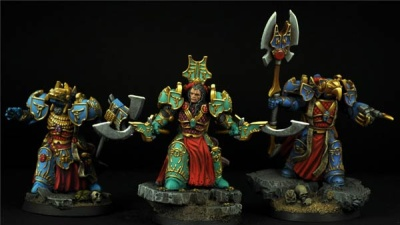 Egyptian SF Warriors set (3)