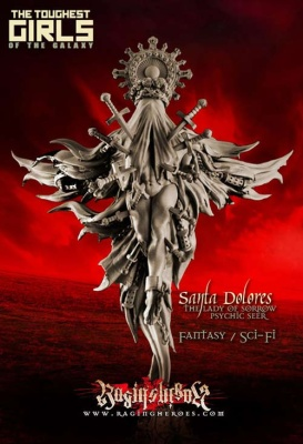 Santa Dolores, The Lady of Sorrow, Psychic Seer (Sisters)