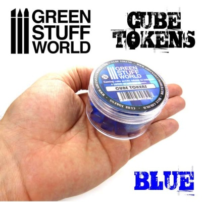 Cube tokens BLUE