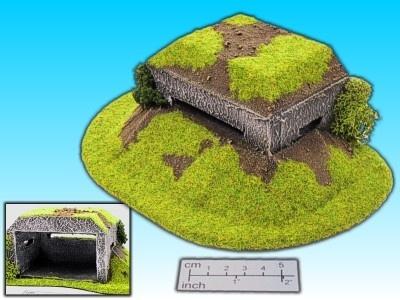 Geländestück Bunker