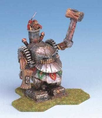 Dwarf Battle Rider w/Hammers
