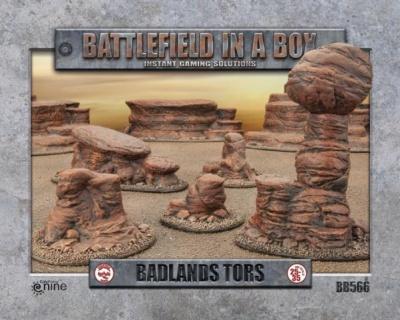 Badlands Tors