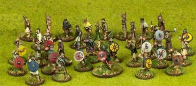 SAGA Starter Army - Welsh 4pt Warband