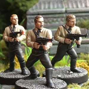 Danger 5: Human Nazi Soldiers