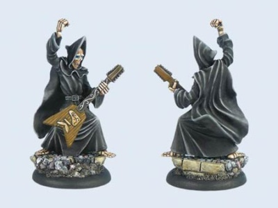 Discworld Miniature Death with Guitar