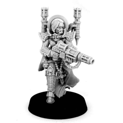 Emperor Sister with Melting Gun
