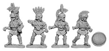 Oscan Armoured Infantry with Hoplite Shields (random 8 of 4