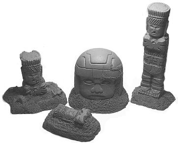 Azteken Ruinen