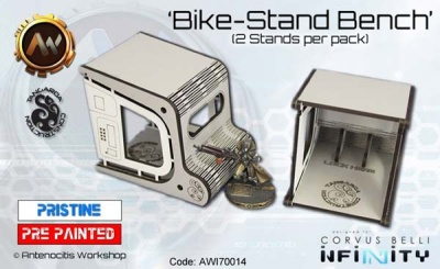 Tangaroa Bike Stands (2)