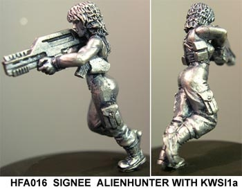 Signee, Alien hunter with KWS 1a
