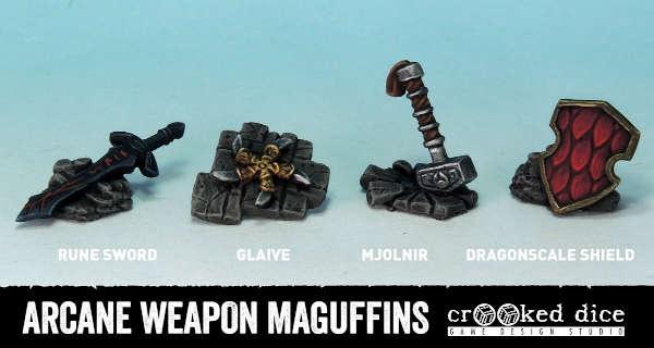 Arcane Weapon Maguffins