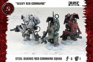 SSU: Steel Guard Nco Command Squad (3)