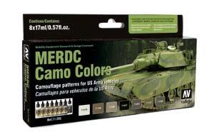 Model Air: Model Air Set MERDC Camo Colors (8)