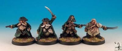 Dwarf pirates (4)