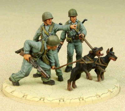USMC War Dogs Recon Squad
