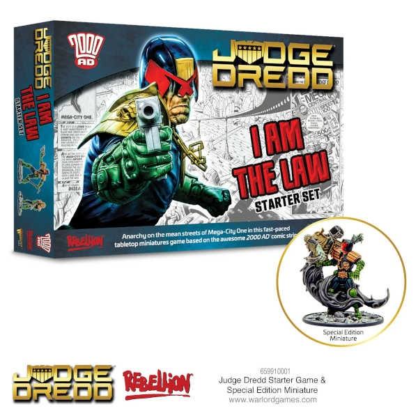 Judge Dredd Starter Game I Am The Law!
