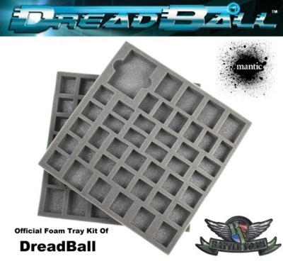 DreadBall Foam Kit for Game Box