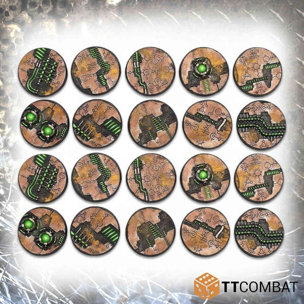 32mm Tomb World Bases (20)